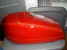 NOS Kawasaki Burnt Red Petrol Fuel Gas Tank 1978 KZ650 51001-115-A1