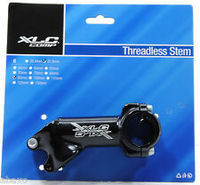 "Mountain/Road Bike Bicycle Riser Stem Threadless 1-1/8"" 90mm x 40° Rise 31.8mm"