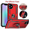 Phone Case For iPhone 11 Pro Max XR XS X 8 7 6S Plus Shockproof Armor Ring Cover