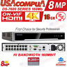 HIKVISION 16CH POE 4K NVR DS-7616NI-K2/16P  NVR 16 CHANNEL  (3 DAYS DELIVERY)