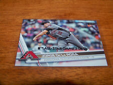 ARIZONA DIAMONDBACKS JORGE DE LA ROSA 2017 TOPPS SILVER ALL-STAR STAMPED #365