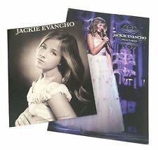 "Jackie Evancho Official Program Tour Book & 8x10"" Head Shot Set New Official"