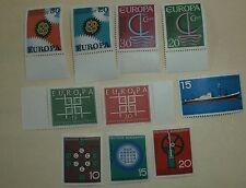 Germany Stamp 5 Sets Between 767- 970 MNH