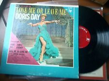 """LP 12"""" DORIS DAY LOVE OR LEAVE ME WITH ORCHESTRA PERCY FAITH EX++ COLUMBIA USA"""
