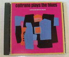 JOHN COLTRANE (CD)  COLTRANE PLAYS THE BLUES - 1 BONUS TRACK