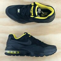 Nike Air Max 94 SE Triple Black Tour Yellow Running Shoes AV8197-002 Size 9.5