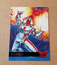 Fleer Ultra X-Men95 - Card #34 Nimrod - Marvel Comics 1995 - Excellent/Mint