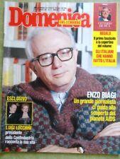 La Domenica del Corriere 12 Marzo 1987 Biagi AIDS Hitler Azzolina Ughi De Sica