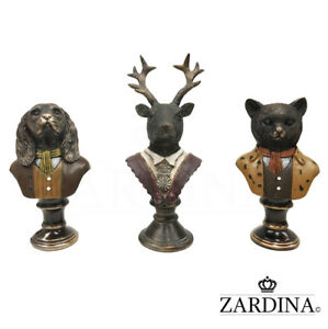 Animal Musketeers Sculpture Home Office Decor Ornament Figures (Limited Edition)