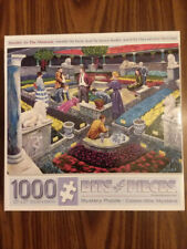 Mystery Puzzle Murder at the Museum Bits & Pieces Jigsaw 1000 Pieces COMPLETE