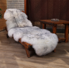 Stock Genuine Double Pelt Australian Sheepskin Rugs Wool fur Area Rugs Lambskins