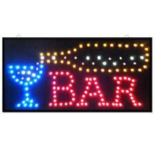 Nuevo Vino Cocktail Bar Pub Club ventana de visualización de luz LED lámpara de señal 48cmx24cm