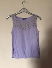 Dorothy Perkins Lilac Top Size 8
