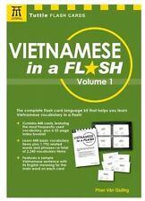Vietnamese in a Flash Kit Volume 1 Tuttle Flash Cards