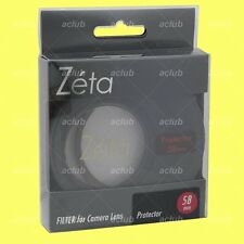 Genuine Kenko 58mm Zeta Super Multi-Coating Lens Protector Clear Filter