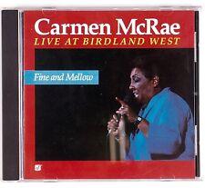 CARMEN McRAE: Live at Birdland West SACD Audiophile Concord Jazz NM Disc