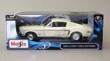 1:18 Maisto 1968 Mustang GT Cobra Jet - Yellow