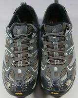 The North Face Gore-Tex Low Top Gray Black Vibram Hiking Shoes Mens Size 7.5