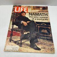 ORIGINAL Vintage Life Magazine November 3 1972 Joe Namath Jets