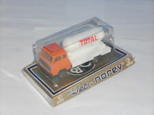 NOREV Mini Jet #441 Volvo GAZ Orange & White TOTAL Tank Truck