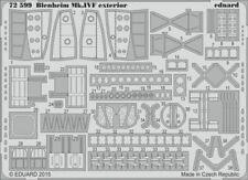 EDUARD 1/72 Bristol Blenheim mk.ivf esterni #72599
