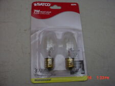 Satco S3791   Incandescent Clear Night Light Bulb 7W 25 Pack
