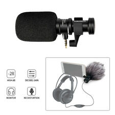 Ulanzi Comica CVM-VS08 Phone Microphone Stand Rotated w/Wind Muff For Smartphone