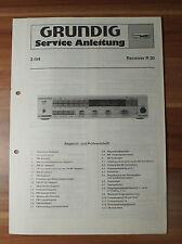 Receiver R30 Grundig Service Manual Serviceanleitung