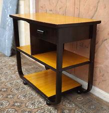 Tavolino mobiletto Art Deco con cassetto ottimo Design