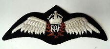ROYAL AIR FORCE KINGS CROWN PADDED PILOT WING