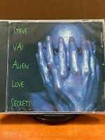 Alien Love Secrets by Steve Vai (CD, Apr-1995, Relativity) Brand New Sealed