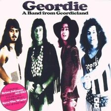 Geordie - A Band from Geordieland - 24 Track CD - 1996 - Ft Brian Johnson AC/DC