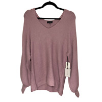 1. State NEW Balloon Sleeve High Fashion Luxury Women's Sweater Shirt Small S