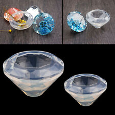 Diy 3D Diamond Shape Cabochon Silicon Cake Mold Mould Epoxy Resin Jewelry Making