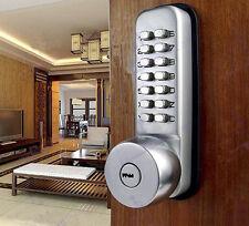 Keyless Digital Code Keypad Button Machinery Password Door Lock Entry Security
