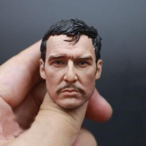 1/6 Scale Pedro Pascal Mandalorian Head Sculpt Carved Fit 12'' Soldier Figure