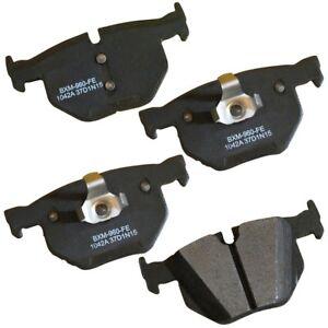Disc Brake Pad Set-Stop Semi-Metallic Brake Pad Rear Bendix SBM1042A