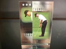 Insert Tiger Woods Upper Deck SP FOCUS ON A CHAMPION 2001 Card #FC7 MASTERS
