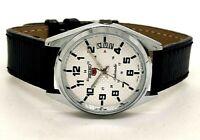 vintage seiko automatic men's steel japan made wrist watch looking nice