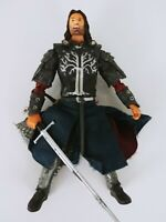 LOTR LORD OF THE RINGS ACTION FIGURE 2003 PELENNOR FIELDS ARAGON