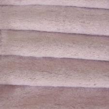 "1/6 yd VIS1 Lilac INTERCAL 6mm ""Flat"" Med. Dense German Viscose Fur Fabric"