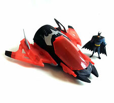 "Large DC Comics  BATMAN Jet toy vehicle with sound & action for 5 - 6"" figures"