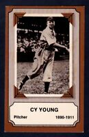 #19 Cy Young Cleveland Indians / 1975 Pioneers of Baseball / Fleer / EX-NM cond
