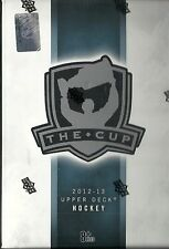 2012-13 UD The Cup Factory Sealed Hockey Hobby Box   Krieder  Schwartz RC's  ???