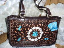 Beautiful fashionable ladies designer Brown handbag