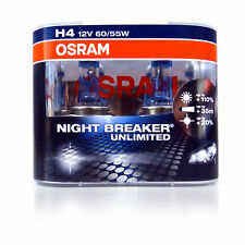 OSRAM New! - H4 Night Breaker Unlimited (Pair)  110% PLUS Improvement