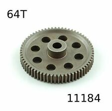 11184 CORONA METALLO 64 DENTI (64T) MODULO 0.6 1/10 OFF-ROAD 11164 HIMOTO 1pz