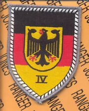BRD GERMAN ARMY IV Territorial Defense Command patch