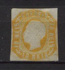 Potugal 1862 SG#28 Orange-Yellow MH