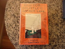 Doctor Dolittle and the Secret Lake by Hugh Lofting. 1st ed in scarce DJ 1948